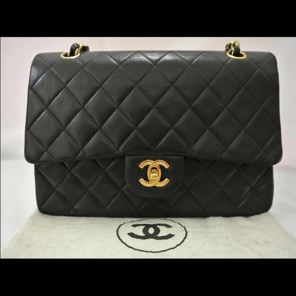 dcf0791943aa CHANEL Bags | 255 Double Flap 10 Inch Shoulder Bag | Poshmark