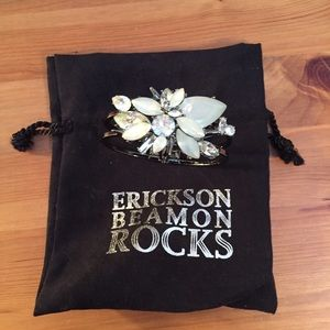 Erickson Beamon Jewelry - PRICE DROP! Erickson Beamon rocks blondie bracelet