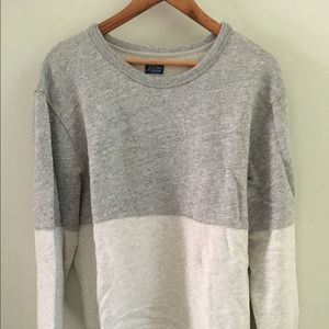 J. Crew color block sweat shirt