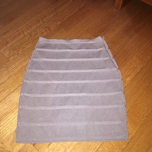 Armani Exchange Dresses & Skirts - ARMANI EXCHANGE silver skirt