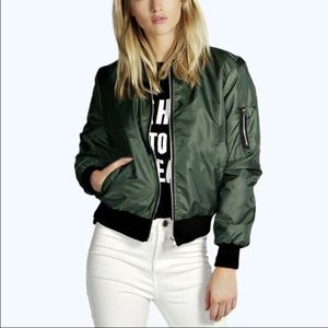 Boutique Jackets & Blazers - Lightweight bomber jacket restocked