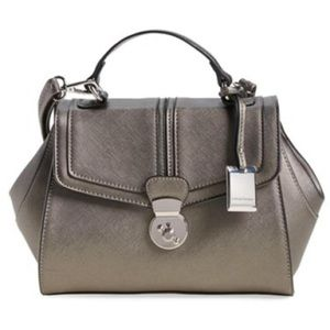 29ea3a2971b7 Catherine Malandrino Gray Crossbody Handbag Purse