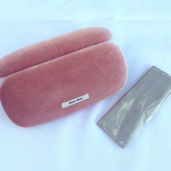 115ee0174bb Miu Miu glasses case  NEW. M 57425a959c6fcf7ce701481c. Other Accessories ...