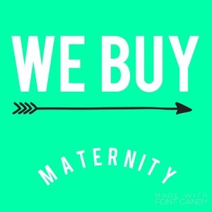 READ! READ! ISO Maternity and nursing bundles 👈🏽