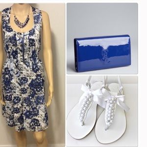 Marc Jacobs Dresses & Skirts - Marc of New York blue & white floral dress