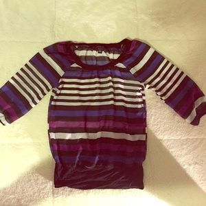 A. Byer Tops - Stripped blouse