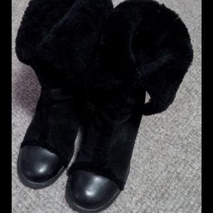 Chloe Shoes - 🌟Retail $1100! Chloe Shearling Wedge Boots!!!