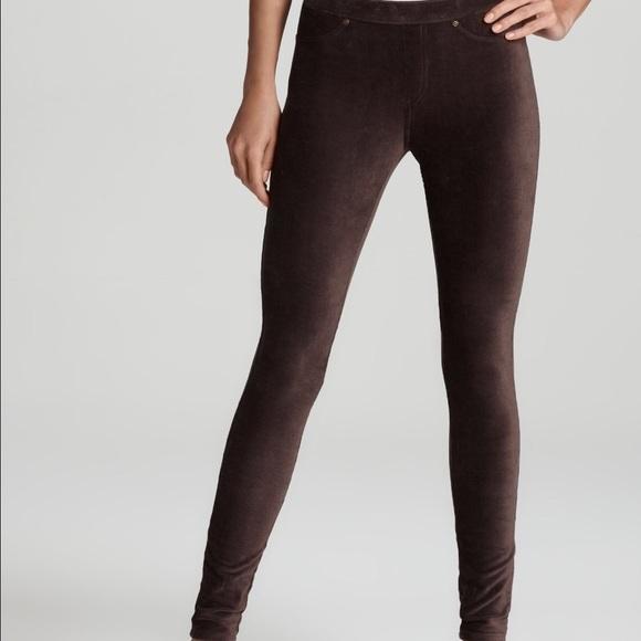 83867ffd0ca39 HUE Pants | Corduroy Expresso Brown Leggings | Poshmark