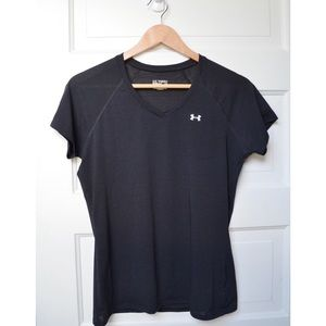 Black Under Armour Workout Tee