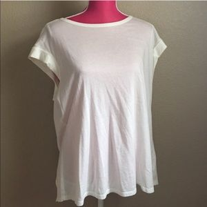 Anthropologie Tops - Cloth & Stone White open-back Top