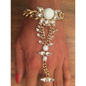 8 Other Reasons Jewelry - Jeweled Slave Bracelet By 8 Other Reasons