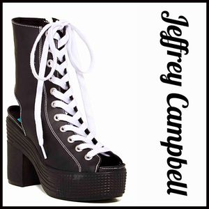 Jeffrey Campbell Shoes - JEFFREY CAMPBELL PLATFORM SNEAKER High Top Booties