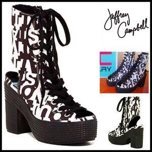 Jeffrey Campbell Shoes - ❗1-HOUR SALE❗JEFFREY CAMPBELL PLATFORM BOOTIES