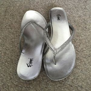 8b78dc6d4e FIONI Clothing Shoes | Fioni Quinn Embellished Low Wedge | Poshmark