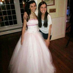 Mori Lee Dresses & Skirts - Mori Lee Pink Prom Ball Gown