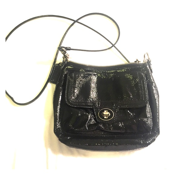 0b457c4fa0ff Coach Handbags - Coach patent leather crossbody bag