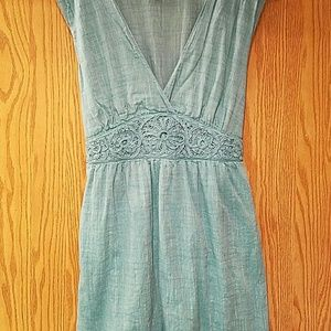 Max Studio Dresses - Max Studio Cotton Turquoise Dress sz L