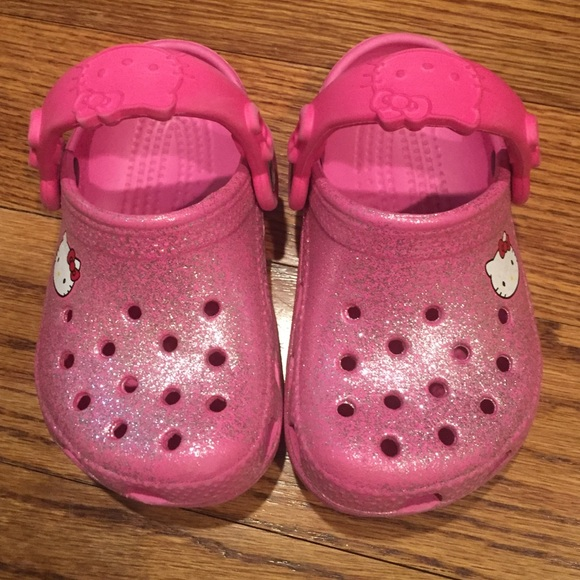 ca2cdc9f528d crocs Other - Baby girl Hello Kitty Crocs size 6-7