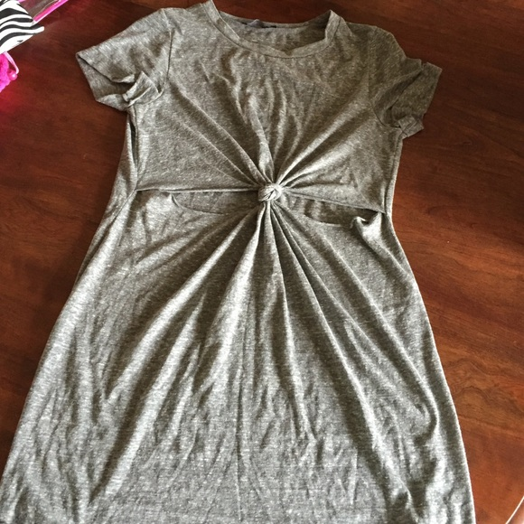 fe724035d82 Honey Punch Dresses   Urban Outfitters Knotfront Tshirt Dress   Poshmark