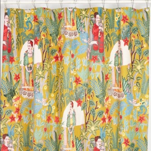Frida Kahlo Shower Curtain M 57433edb7fab3a84c0002863