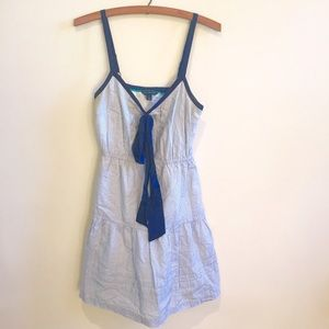 Dresses & Skirts - ⚓️Pinstripe Bow Dress⛵️