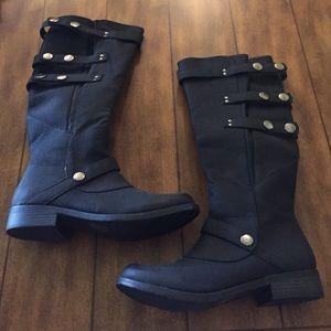 Black Tall Boots, BRAND NEW!