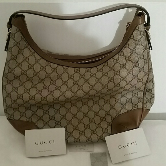 Gucci Handbags 475 Obo Nwt Nice Gg Supreme Hobo Offers