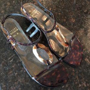Stuart Weitzman Tortoise Sandals