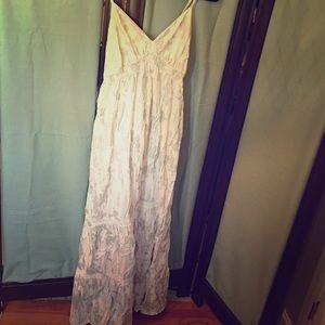 Mossimo Creme maxi dress