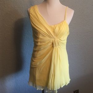 Darling MM Couture yellow top