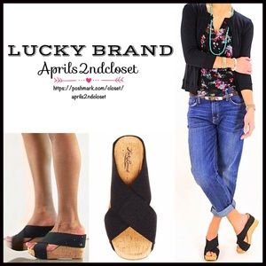 Lucky Brand Shoes - LUCKY BRAND SANDALS Wedge Platforms