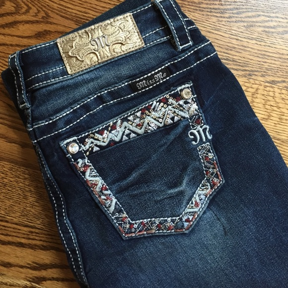 d165af76f38 NWT Miss Me Signature Bootcut Jeans