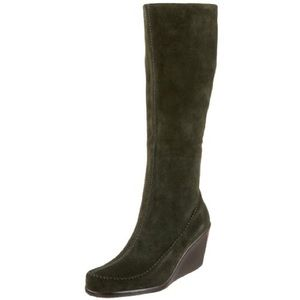 87 aerosoles shoes aerosoles suede wedge boots from