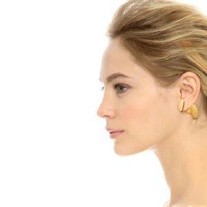 Lulu Frost Jewelry - Lulu Frost Gold Tone Double Stud