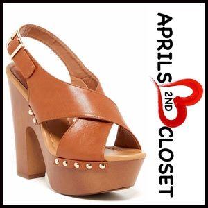 Boutique Shoes - SANDALS Platform Chunky High Heels