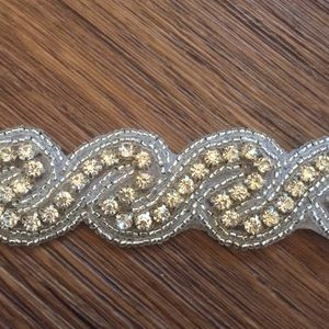 Accessories - 👰🏼Crystal wedding slash / belt / trim / hair tie