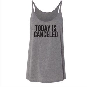 Salt Lake Clothing Tops - HP! ❤ Offer $15‼️ Today is Cancelled Slouchy Tank