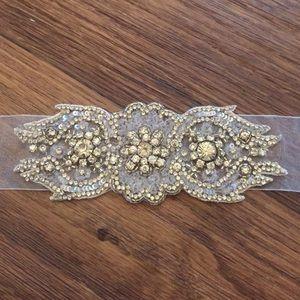 Accessories - 👰🏼Crystal Wedding Sash / Belt / Trim / Hair acc