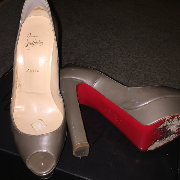 7b5568ac86 Christian Louboutin Shoes | Sunday Salered Bottoms Very Used | Poshmark