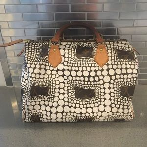 Louis Vuitton kusama speedy 30