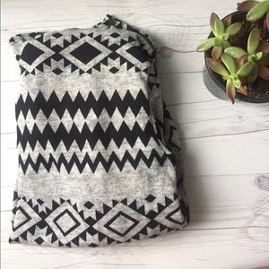 Sweaters - Aztec Cowl Neck Sweater