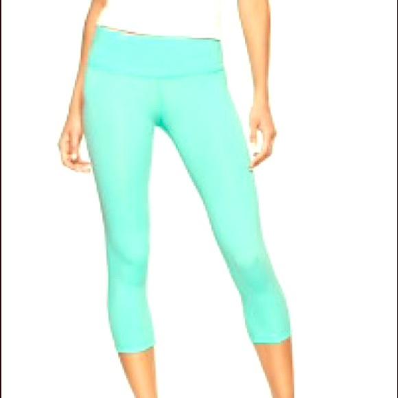 ce8b731a7c GAP Pants | Fit Gfast Capri Leggings Size S Aqua | Poshmark