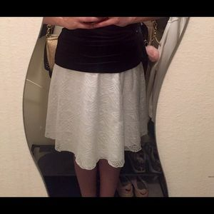 Skirts - Lacy Lined Skirt