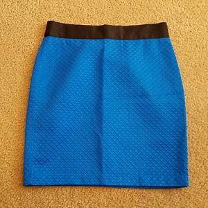 Blue Worthington Pencil Skirt