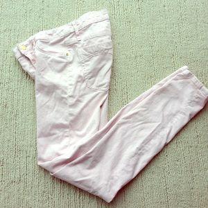 ASOS Denim - RARE Robin's Jeans baby pink skinny jeans