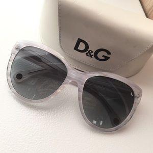 SALE Authentic D&G White Sunnies