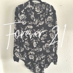 Forever 21 / floral button down