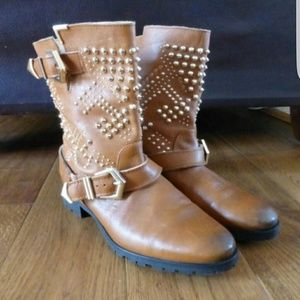 Zara boots. 100% leather NWOT size 41 ( US 11)