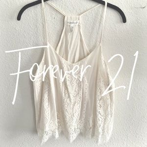 Forever 21 / lace tank