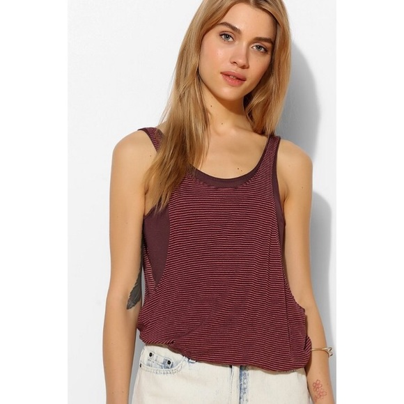 35fe2be1 Urban Outfitters Tops | Silence Noise Bubble Tank Top | Poshmark